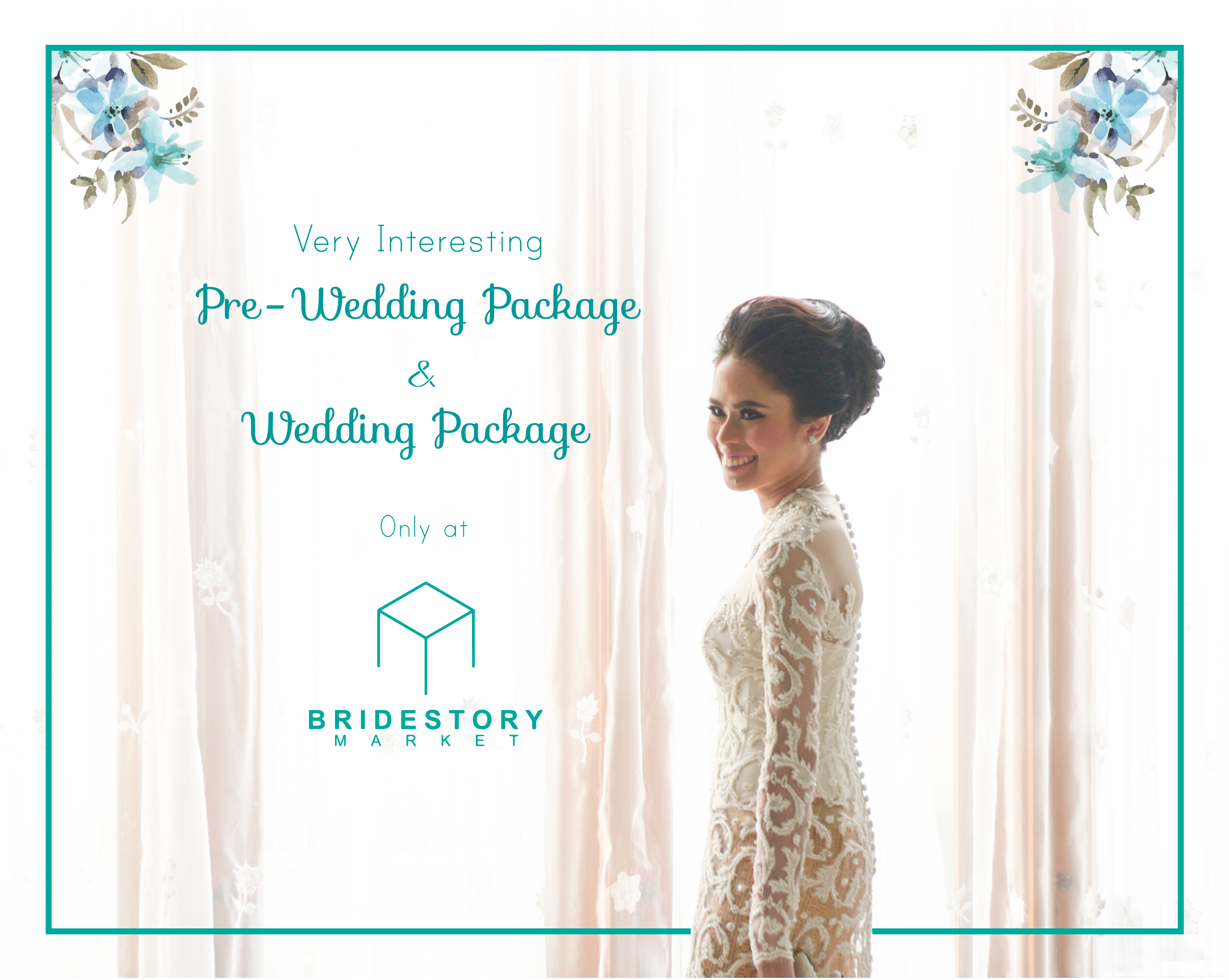 Our Very Interesting Package (VIP) Only at Bridestory Market 2017